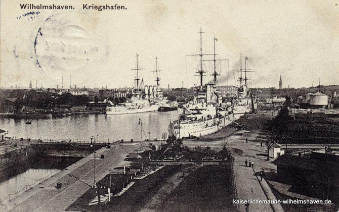 Nordwestkai Nordostkai Neuer Hafen Wilhelmshaven