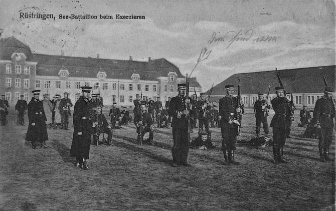 II. Seebataillon Kaserne Gökerstraße Gökerhalle