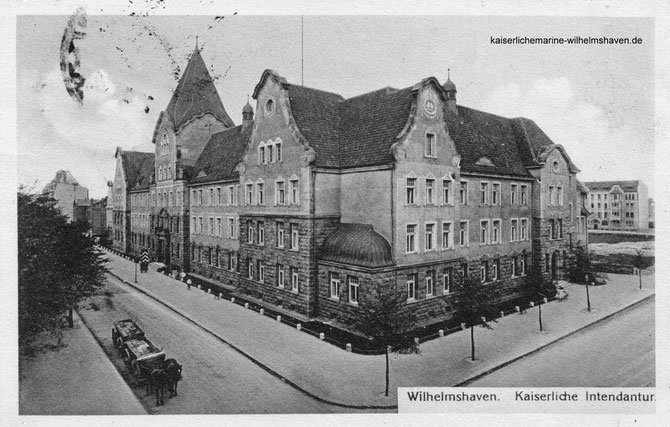Kaiserliche Intendantur Marine-Intendantur Wilhelmshaven Stadttheater