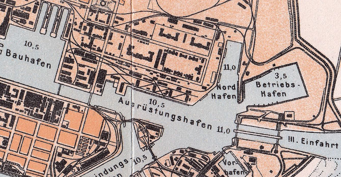 Ausrüstungshafen Bordhafen Betriebshafen Wilhelmshaven