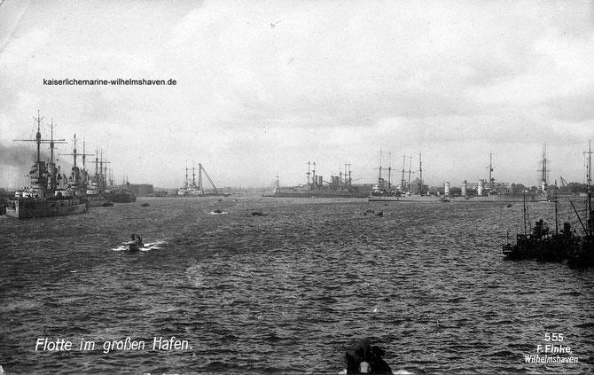 Großer Hafen Wilhelmshaven