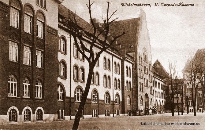 Torpedokaserne Rheinstraße Wilhelmshaven Kaserne Kasernen