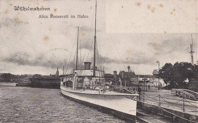 Stationsjacht Stationsyacht Alice Roosevelt Wilhelmshaven