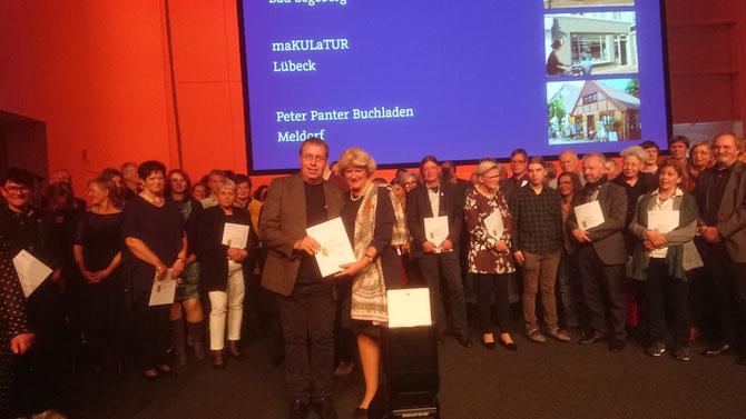 Die Preisverleihung 2018 erfolgte in Kassel durch die Staatsminsiterin Monika Grütters / Foto: Karsten Dehler
