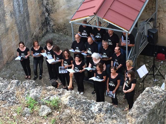 Concerto alle tombe Scataglini, Tarquinia