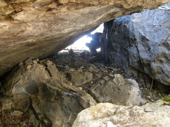 caverne des Baudissard