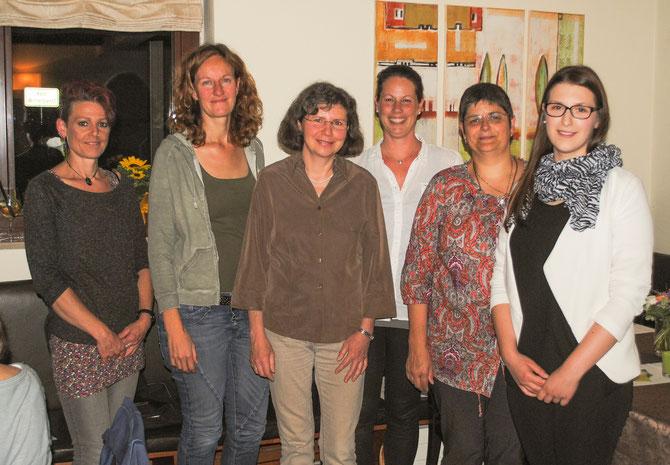 Der DKSB-Vorstand 2015-2017 (v.l.) S. Greiner, S. Scharfenberg, S. Strobel, M. Tritschler, S. Jokschas, C. Unger (es fehlen auf dem Foto: R.Schweizer, J. Weller)