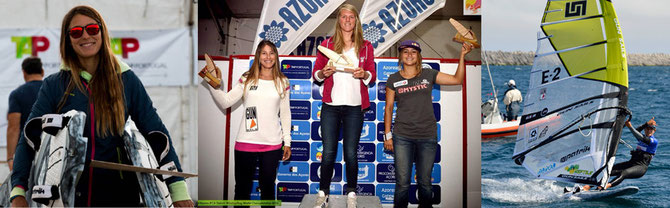 Maria Andres 3rd at the ifca slalom worlds windsurfing competition gun sails patrik mystic