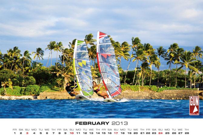 calendario gun sails maria andres 2012 julio  maui torro