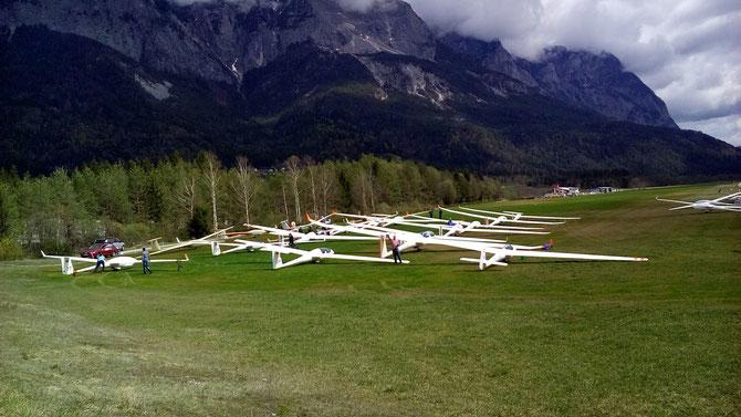 Segelflugsaison ist eröffnet!  2. April 2016