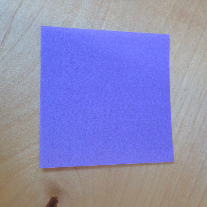 Quadratisches Blatt Origami-Papier