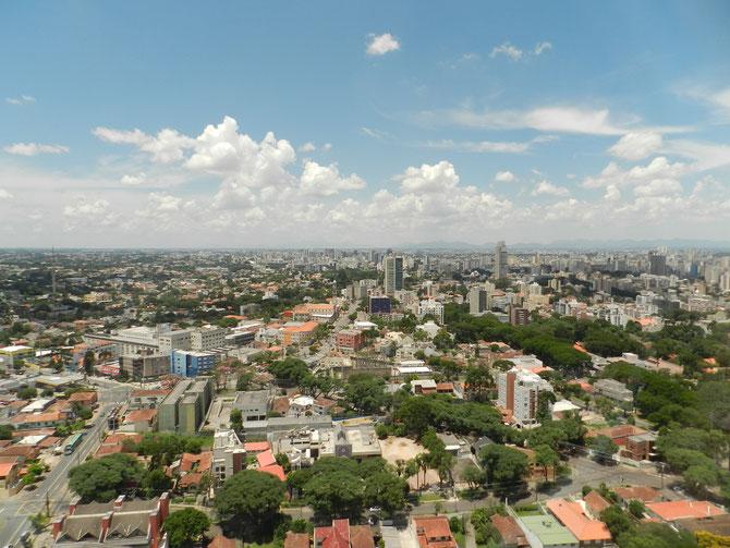 Blick vom Panorama-Turm auf die Stadt