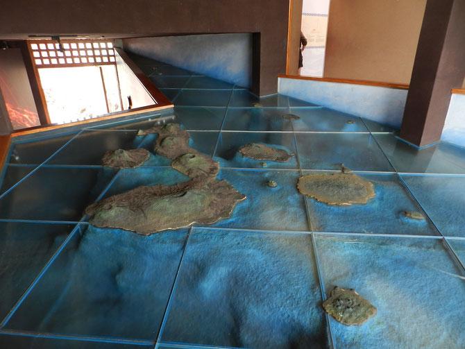 Die Inseln von Galapagos. Wir waren auf Isabela (die größte), Santa Cruz (die größere runde rechts), San Cristóbal (die kleine Insel rechts neben Santa Cruz) und Seymour Norte (das Zipfelchen direkt oberhalb von Santa Cruz)