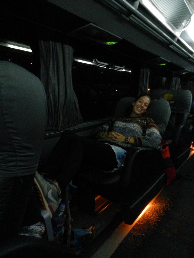 VIP-Sitze bei Cruz del Sur