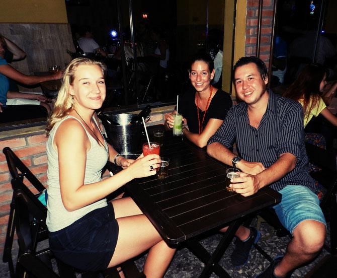 Glückliche Gesichter in Vila Madalena :-)