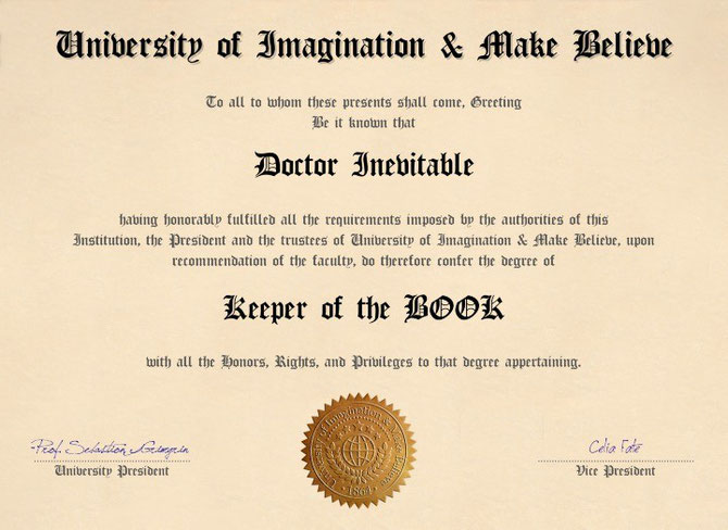 Sacred degree in make believe