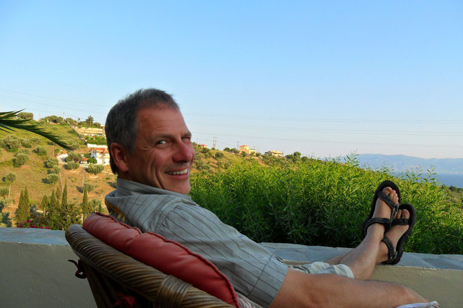 Zu Gast bei Dietmar Schmidt  Repräsentant von Idokan Griechenland