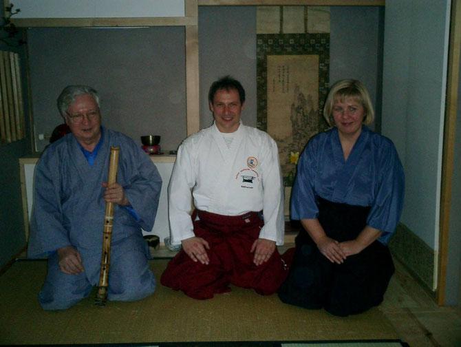Zu Gast bei Sensei Staufenbiehl einen Chado Meister ( Die Kunst des Tee trinkens)