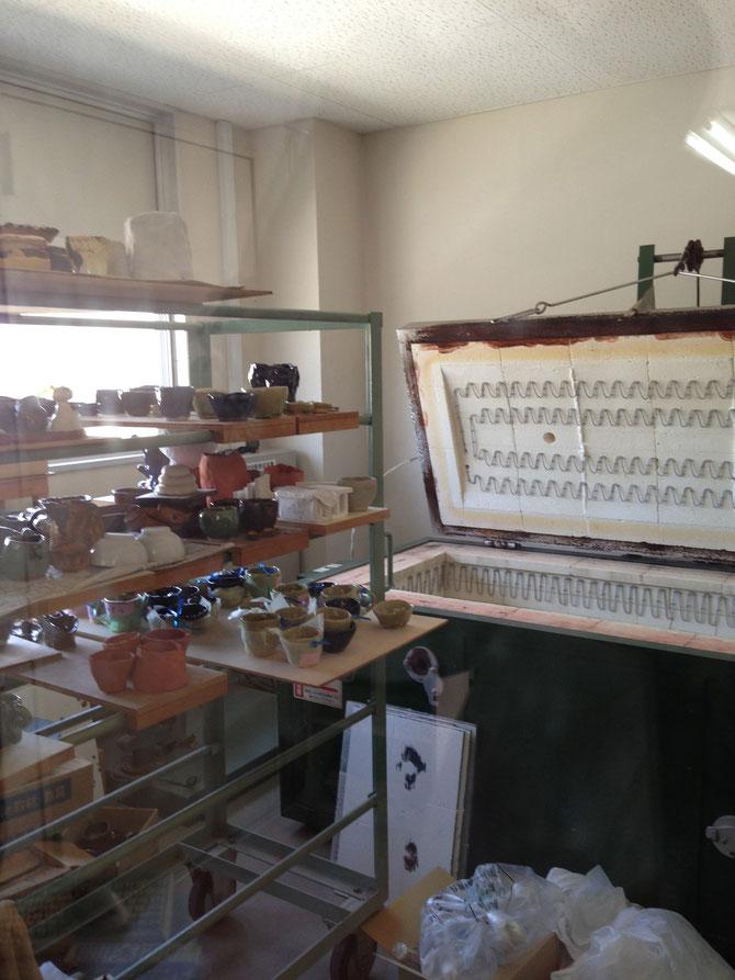 陶芸用の特注の窯