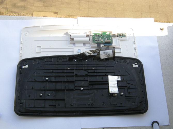 Tastatur reinigen Notebook / Laptop (Funk-Tastatur von Microsoft, Bezeichnung: Arc keyboard ) , Berlin Steglitz-Zehlendorf