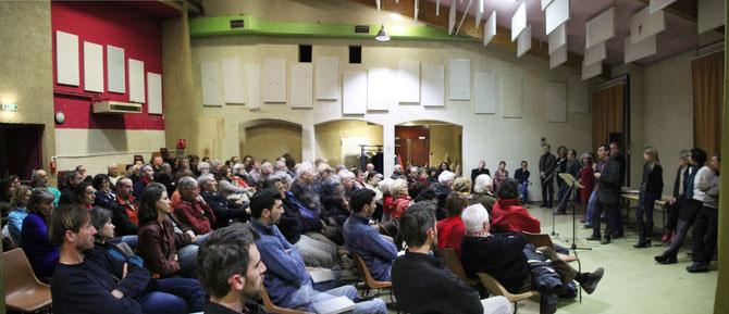 Die, Drôme, Dauphiné, Rhone Alpes, elections municipales, 2014, gauche, réunion publique