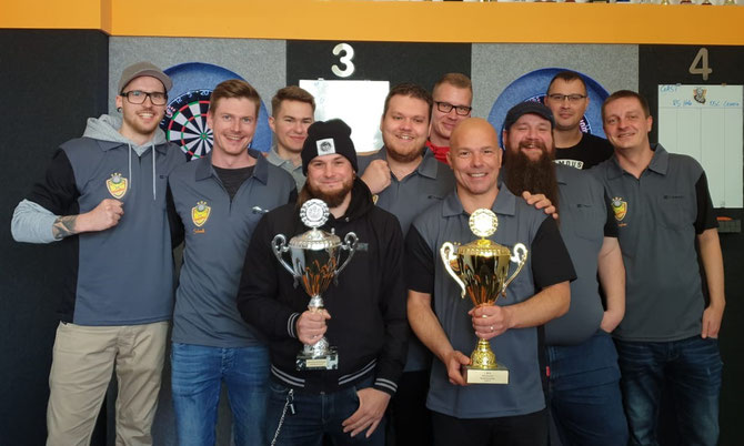 Die Meistermannschaft vom DSC Leipzig