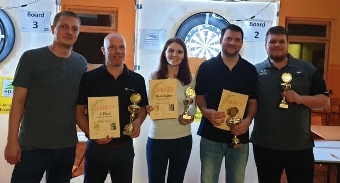 4. Stephan Griese / 2. Danni Kobus / Beste Dame Saskia Boekhoff / 1. Yves Wawrzyniak / 3. Marcel Herrmann