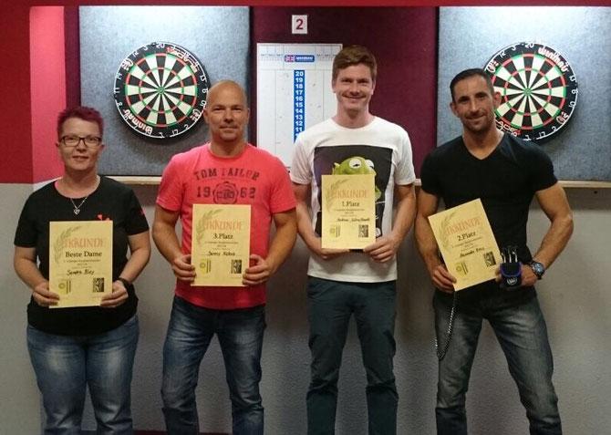 Beste Dame: Sandra Bley / 3. Danny Kobus / 1. Andreas Schnellhardt / 2. Alexander Kreis
