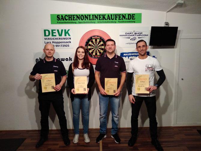 2. Danny Pitschke / Beste Dame Saskia Boekhoff / 1. Yves Wawrzyniak / 3. Alexander Kreis
