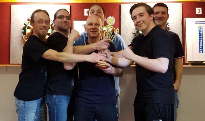 Meistermannschaft 2016/17 TD Merseburg