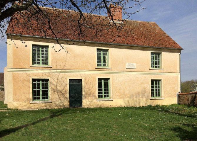 Villeneuve-sur-Fère (02). Maison d'évocation Camille et Paul Claudel. Maison natale de Paul Claudel. Photo : CARCT