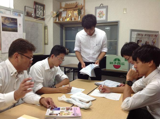 学生インターンと共に!!