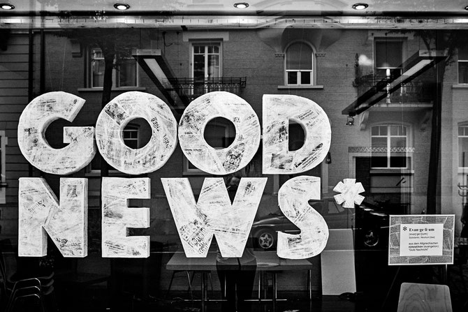 GOOD NEWS Schaufenster Heilsarmee Luzern