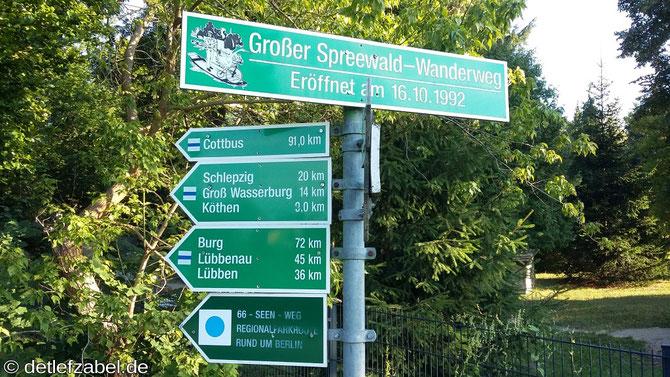 Kanutour in Märkisch-Buchholz