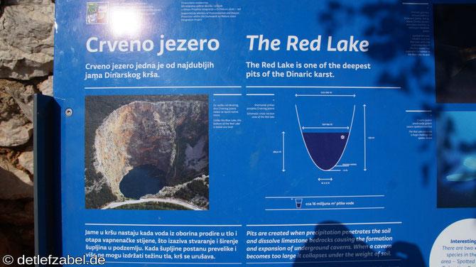 Crverno Jezero roter See