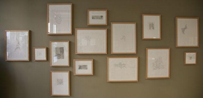 Mirjam Yvonne Vogl, Rot und Grün, Galerie 1822 Forum Ffm, 2009