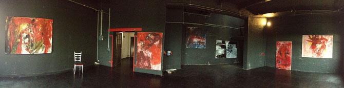 Maria Agathe Vogl, Black Room, Fabrik W47 Ffm, 2013