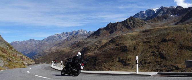 Die höchsten Pässe der Alpen in acht Tagen