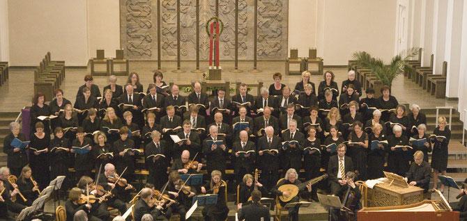 Kirchenchor St. Mariae Geburt 2011. Aufführung der Johannes-Passion von Johann Sebastian Bach