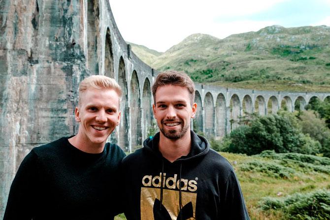 Glenfinnan Viaduct in Schottland - Reisetipps für eine Woche Roadtrip durch Schottland