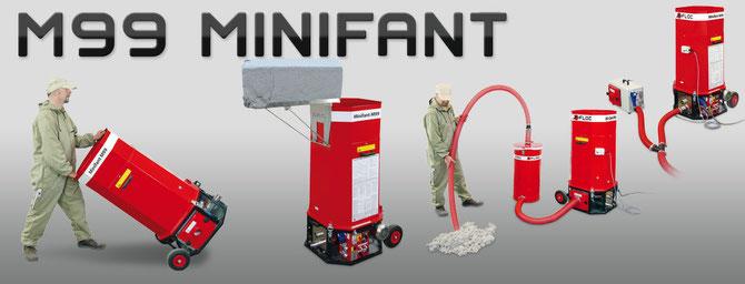 Minifant M99 durchdacht in der Funktion