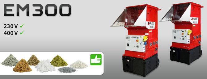 EM 300 Serie die Einblasmaschine für alle Einblas-Dämmstoffe