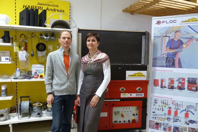 Andreas Haberl und Mag. Regina Haberl