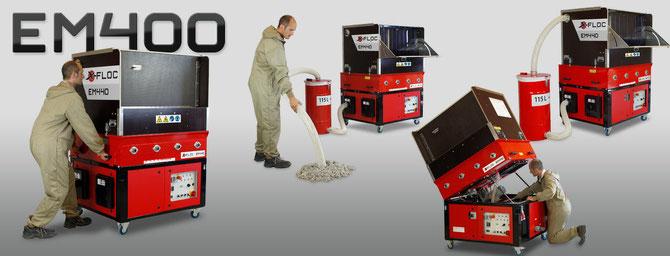 EM 400/430/440 ist in Aufbau, Funktion und Wartung durchdacht.