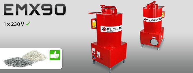 EMX 90 Einblasmaschine für Schüttgüter