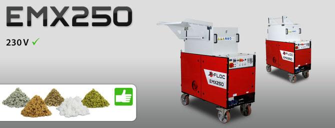 EMX 250 Spezialmaschine zum Verarbeiten loser Dämmstoffe