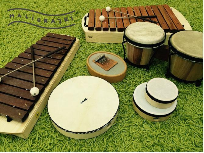 maligrajki instrumenty