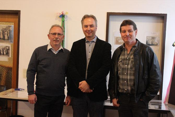 Für diese Ausstellung verantwortlich: Reinhard Wolf, Thomas Soucek, Anton Müller