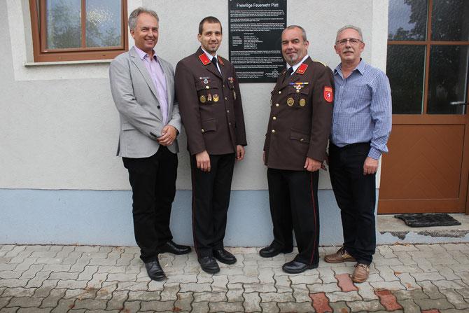 Thomas Soucek, Martin Winalek, Hermann Heger, Reinhard Wolf
