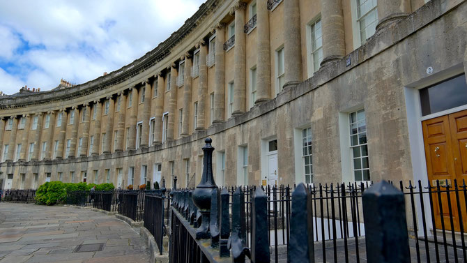 The Royal Crescent - Bath, Somerset